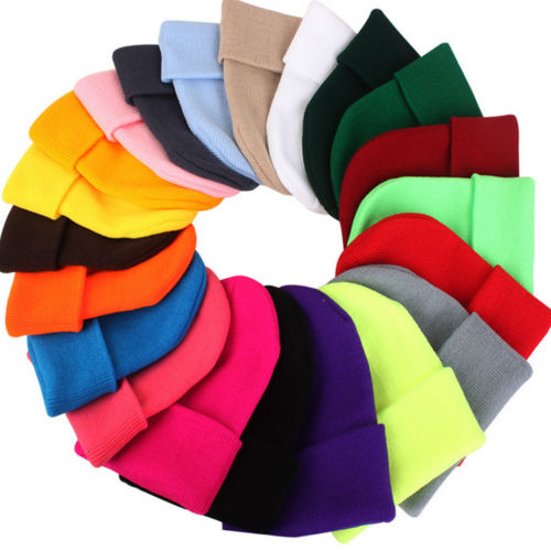 colorful beanies for your first winter in canada