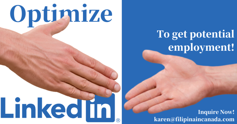 Optimize LinkedIn to get potential employment. Banner Image.